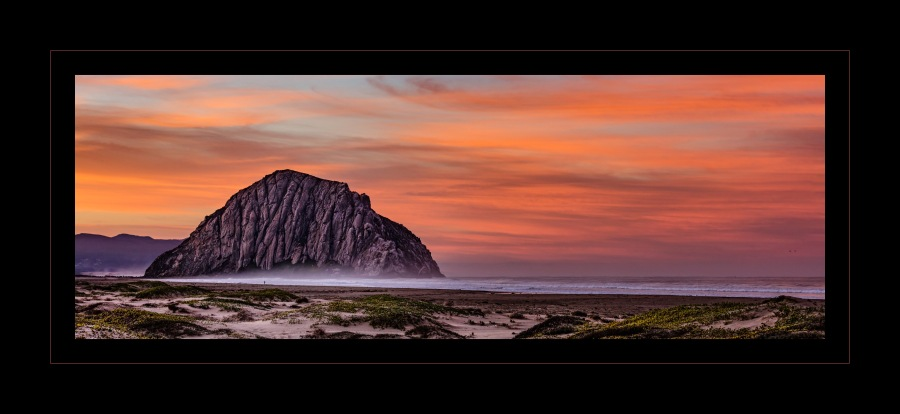 Morro Rock Sunrise