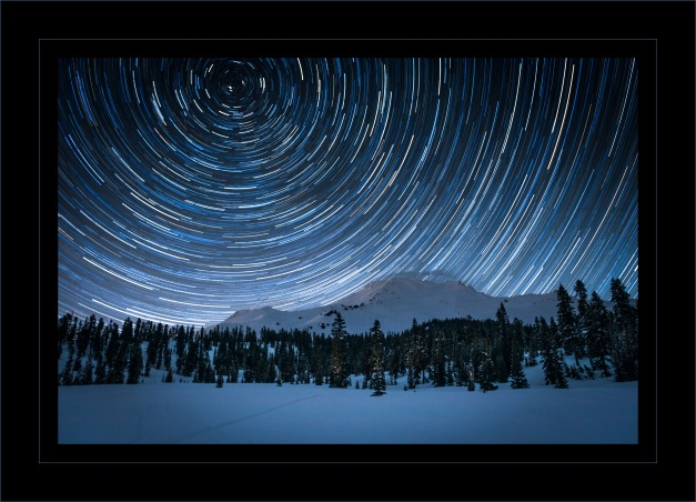 Star Trails Shasta 1